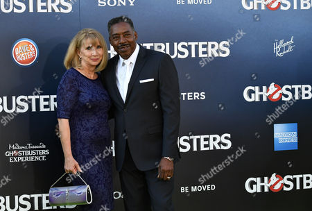 Stock Photo of Ernie Hudson and Linda Kingsberg