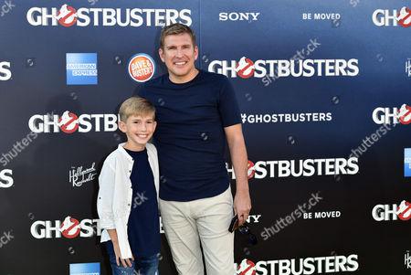 Grayson Chrisley and Todd Chrisley
