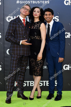Stock Photo of Paul Feig, Bess Rous