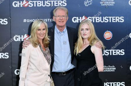 Ed Begley Jnr., Rachelle Carson and Hayden Carson Begley