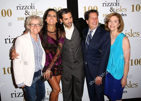Jan Nash, Angie Harmon, Jordan Bridges, Peter Roth, Nancy Roth