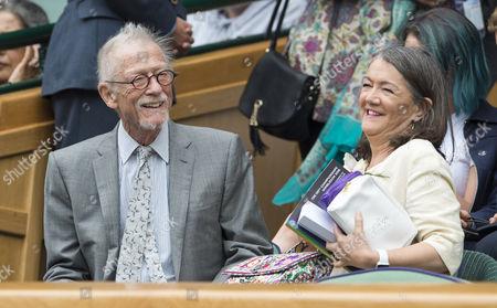 Sir John Hurt and Lady Anwen Hurt