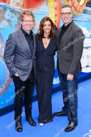Stock Photo of Director Andrew Stanton, Co-Director Angus MacLane, Producer Lindsey Collins