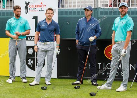 Keith Duffy, Rory Lawson, Dougray Scott and Brian McFadden