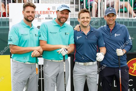 Keith Duffy, Brian McFadden, Rory Lawson and Dougray Scott