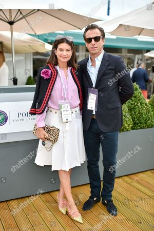 Editorial photo of The Polo Ralph Lauren VIP Suite, Wimbledon Tennis Championships, London, UK - 10 Jul 2016