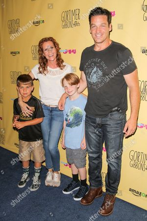 Robyn Lively, husband Bart Johnson and sons