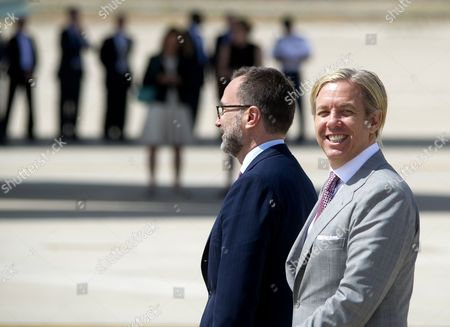 United States Ambassador to Spain James Costos and his husband Michael Smith