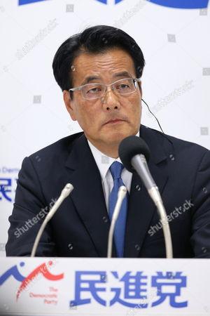 Katsuya Okada, leader of Japan's main opposition Democratic Party