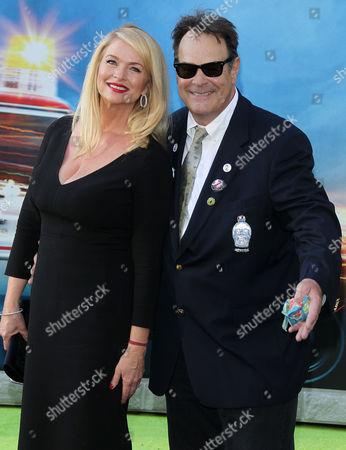 Dan Aykroyd and Donna Dixon