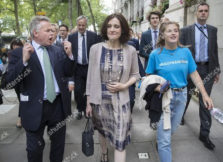 Tim Loughton MP and Northern Ireland Secretary Theresa Villiers