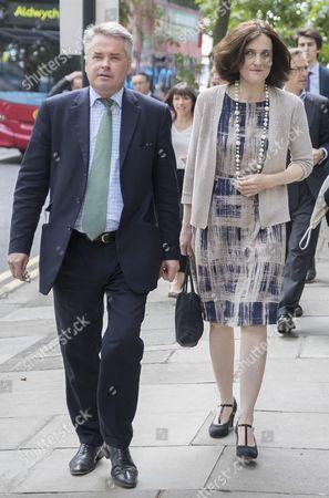 Tim Loughton MP and Northern Ireland Secretary Theresa Villiers
