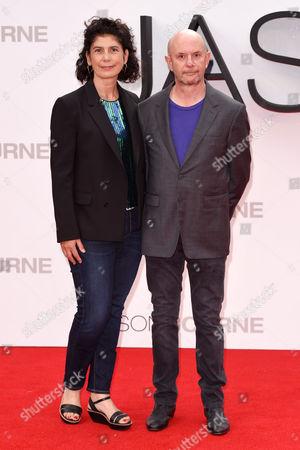 Nick Hornby and Amanda Posey