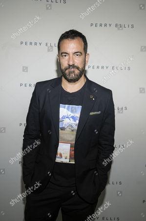 Editorial picture of Perry Ellis presentation, Spring Summer 2017, New York Fashion Week: Men's, USA - 11 Jul 2016