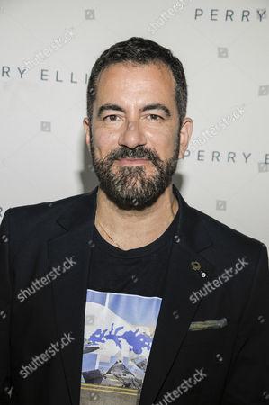 Editorial image of Perry Ellis presentation, Spring Summer 2017, New York Fashion Week: Men's, USA - 11 Jul 2016