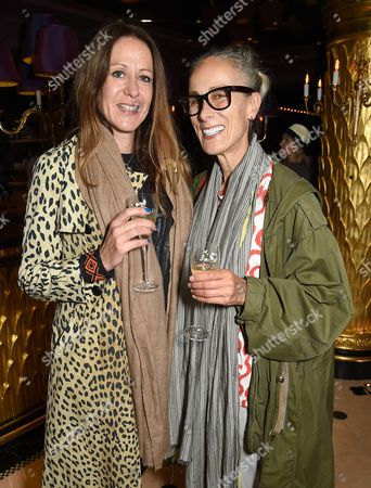 Stock Picture of Georgina Goodman and Caryn Franklin
