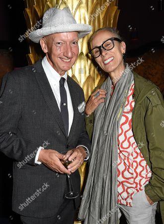 Stephen Jones and Caryn Franklin