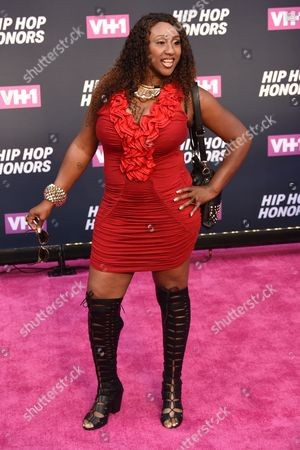 Editorial photo of 2016 VH1 Hip Hop Honors 'All Hail the Queens', Arrivals, David Geffen Hall at Lincoln Center, New York, USA - 11 Jul 2016