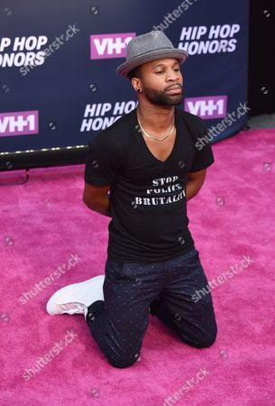 Editorial image of 2016 VH1 Hip Hop Honors 'All Hail the Queens', Arrivals, David Geffen Hall at Lincoln Center, New York, USA - 11 Jul 2016