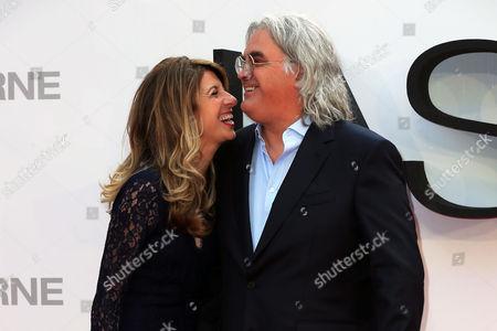 Stock Photo of Paul Greengrass and Joanna Greengrass