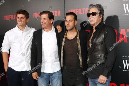 Michael Pare, Brad Furman (Director) and Mickey Rourke