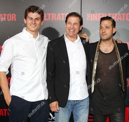 Michael Pare and Brad Furman (Director)