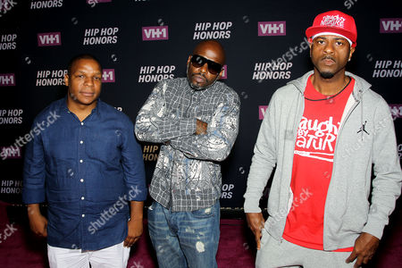 Stock Picture of Vin Rock, Treach, DJ Kay Gee (Naughty By Nature)