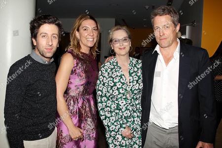 Simon Helberg, Antonia Romeo, Meryl Streep, Hugh Grant