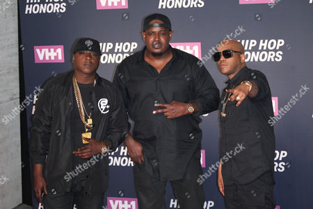 Jadakiss, Sean Divine Jacobs and Styles P