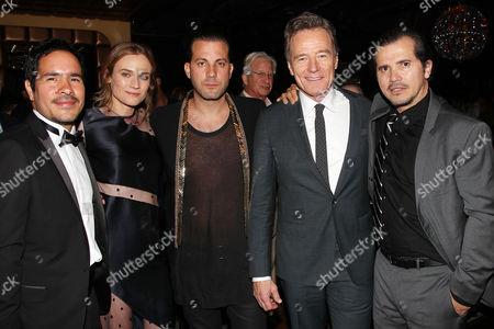 Juan Cely, Diane Kruger, Brad Furman, Bryan Cranston, John Legui at the after party