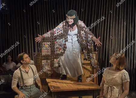 Editorial photo of 'Into the Woods' Musical by Stephen Sondheim performed at the Menier Chocolate Factory Theatre, London, UK, 11 Jul 2016