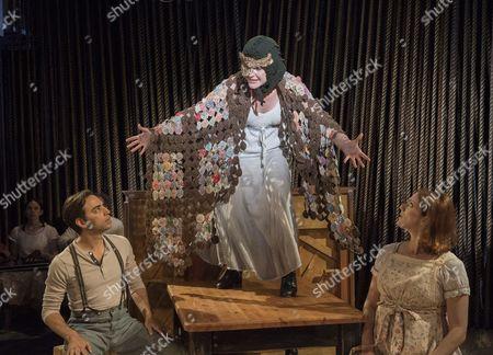 Ben Steinfeld as Baker, Vanessa Reseland as Witch, Claire Karpen as Cinderella
