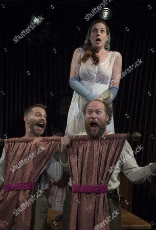 Noah Brody as Sister, Claire Carpen as Cinderella, Andy Grotelueschen as Sister,