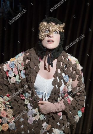 Stock Photo of Vanessa Reseland as Witch,