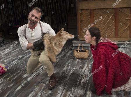 Noah Brody as Wolf, Emily Young as Little Red