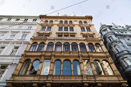 Stock Image of Julius Meinl am Graben, delicatessen and restaurant, Vienna, Austria