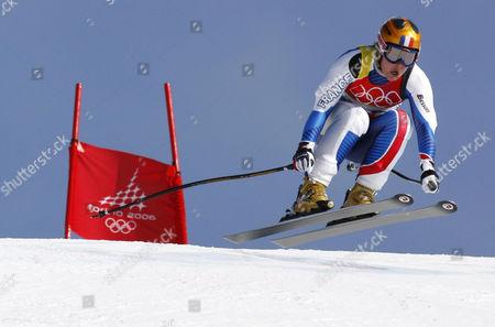 Stock Photo of ALPINE SKIING - SUPER G WOMEN - CAROLE MONTILLET CARLES (FRA)