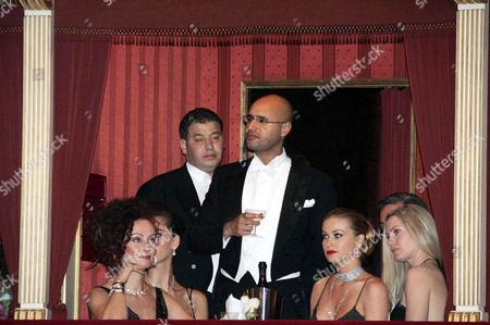 Christina (Mausi) Lugner, Saif El Qaddafi, Carmen Electra