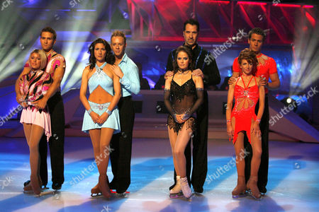 Stefan Booth and Kristina Cousins, Gaynor Faye and Daniel Whiston, David Seaman and Pam O' Connor, Bonnie Langford and Matt Evers