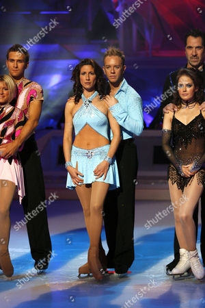 Stefan Booth and Kristina Cousins, Gaynor Faye and Daniel Whiston, David Seaman and Pam O' Connor