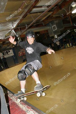 Tony Magnusson at Jay Adams benefit, Simi Valley, California, America