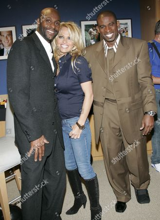 Pam Anderson, Jerry Rice, Deion Sanders