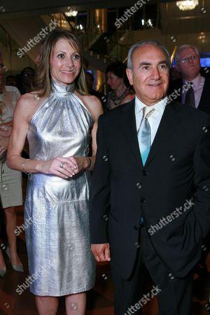 Kimberly Marteau Emerson  and Charles Perez