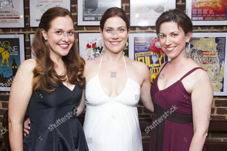 Claire Karpen (Cinderella/Granny), Jessie Austrian (Baker's Wife) and Liz Hayes (Jack's Mother/Stepmother)