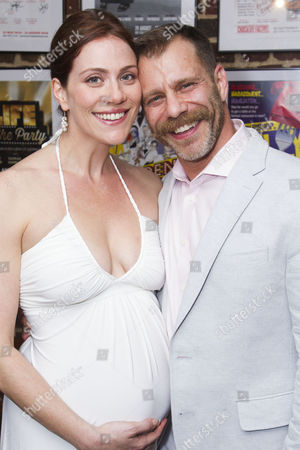 Jessie Austrian (Baker's Wife) and Noah Brody (Director/Wolf/Cinderella's Prince)