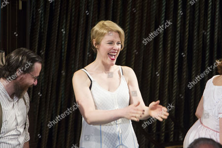 Vanessa Reseland (Witch) during the curtain call
