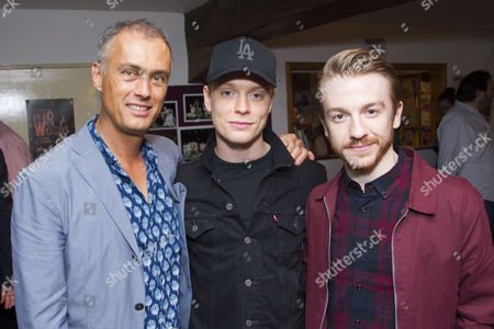 Michael Le Poer Trench, Freddie Fox and Steven Webb
