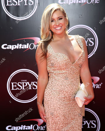 Editorial picture of ESPY Awards, Arrivals, Los Angeles, USA - 13 July 2016