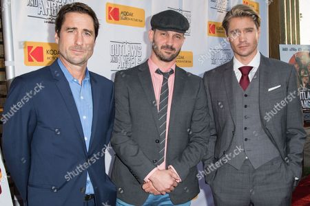 Stock Picture of Luke Wilson, JT Mollner and Chad Michael Murray