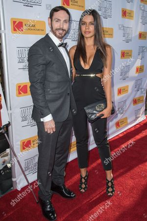 Nathan Russell and Paola Paulin